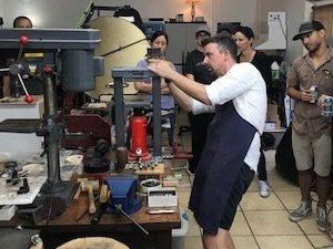 Christopher Taylor Timberlake fine art jewelry artist - mokume-gane austin
